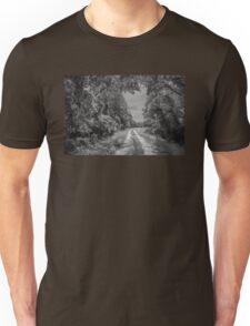 On A Country Road: IR Unisex T-Shirt