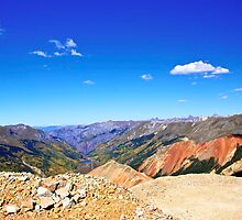 Spectacular view from the top of Red Mountain by Ann Reece