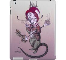 Surreal Mad Hatter/ Purple Tones iPad Case/Skin