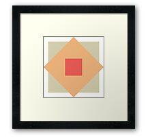 Boxes Framed Print
