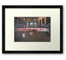 I hope it's not their LAST SUPPER Framed Print
