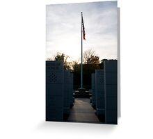 WWII Memorial Greeting Card