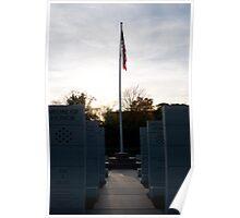 WWII Memorial Poster