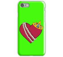 Queen of hearts geek funny nerd iPhone Case/Skin