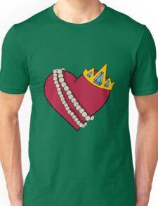 Queen of hearts geek funny nerd Unisex T-Shirt