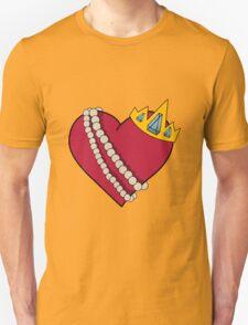Queen of hearts geek funny nerd T-Shirt