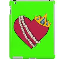 Queen of hearts geek funny nerd iPad Case/Skin