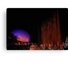 Playing Fountain Canvas Print