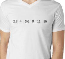 Aperture Mens V-Neck T-Shirt