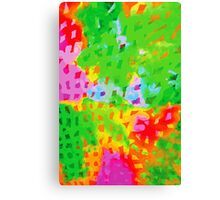 Multicolor Abstract Watercolor Painting Canvas Print