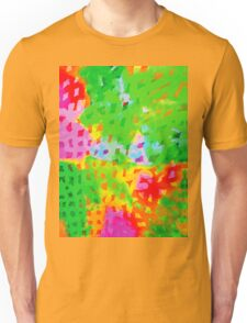 Multicolor Abstract Watercolor Painting Unisex T-Shirt
