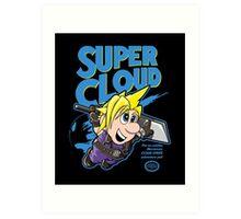 Super Cloud Art Print