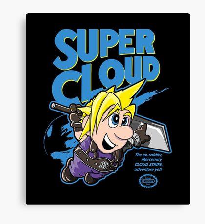Super Cloud Canvas Print