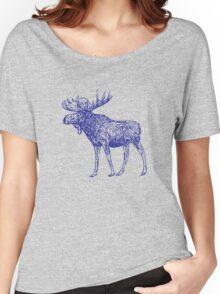 Kansas City Royals Moose Women's Relaxed Fit T-Shirt
