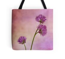 Chive Blossoms Tote Bag