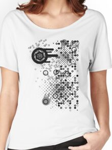 Cool Dotty Dots & Crazy Circles... Women's Relaxed Fit T-Shirt