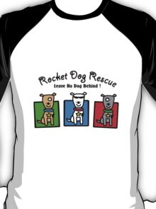 Rdr todd parr 3 dogs front only geek funny nerd T-Shirt