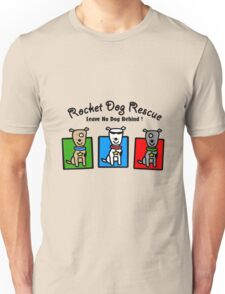 Rdr todd parr 3 dogs front only geek funny nerd Unisex T-Shirt