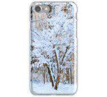 Siebold Viburnum in the Snow iPhone Case/Skin