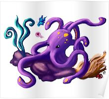 Octy the octopus Poster