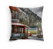 Hedley Trading Post Throw Pillow