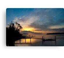 Gig Harbor Sunrise Canvas Print