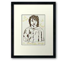 Frodo's wish Framed Print