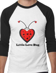 Little Love Bug Men's Baseball ¾ T-Shirt