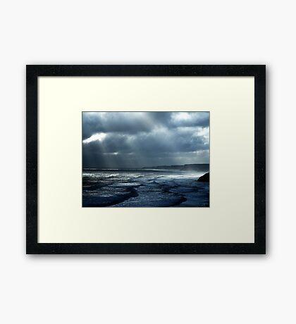Shafts of Light 2 Framed Print