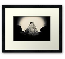 Mercury Tower Framed Print