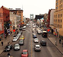 Harlem, MLK Blvd. (Facing East) by Daniel  Rarela