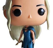 Funko Pop! Daenerys Targaryen by jcartwork05