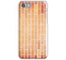 Yellow brick leg iPhone Case/Skin