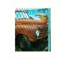 """Recycling Rust"" Art Print"