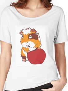 Apple Guinea Pig Women's Relaxed Fit T-Shirt