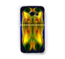 Double Gustav Klimts Kiss reflection Samsung Galaxy Case/Skin