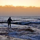 Early Morning Fishing by Xandru