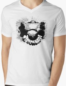 Tomorrow Psychedelic Rock T-Shirt Mens V-Neck T-Shirt