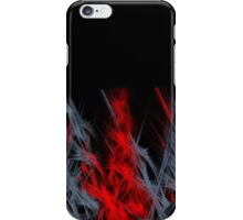 Red & Grey flames iPhone Case/Skin