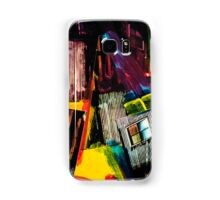 Diagonal Lines and a Window - Grunge Collage 14 Samsung Galaxy Case/Skin