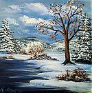 The Lake & Snow by teresa731