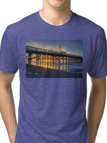 Apache Pier Sunrise_1 Tri-blend T-Shirt