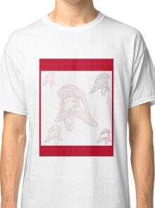 Ghostly helmets of firemen past (NSW) Classic T-Shirt