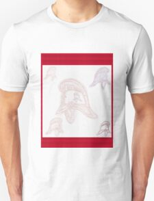Ghostly helmets of firemen past (NSW) T-Shirt