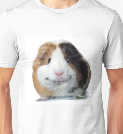Keep Smiling with Angeelo the Guinea Pig! Unisex T-Shirt