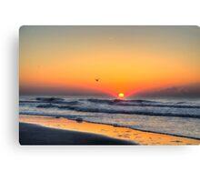 Myrtle Beach Sunrise Canvas Print