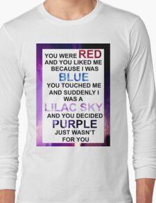 HALSEY COLORS Long Sleeve T-Shirt