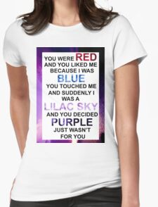 HALSEY COLORS Womens Fitted T-Shirt