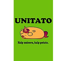 Unitato geek funny nerd Photographic Print