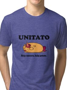 Unitato geek funny nerd Tri-blend T-Shirt